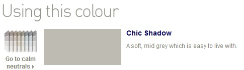 Chic shadow