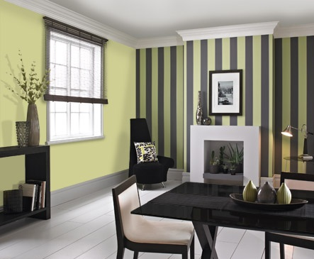 Instead We Have Chosen The Green As Feature Wall And A Neutral Colour On Others But When I Say Mean Anything Magnolia