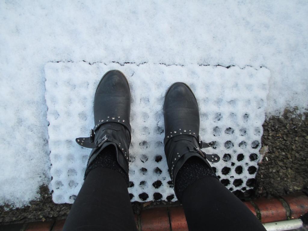 Snowmygod it snowed!