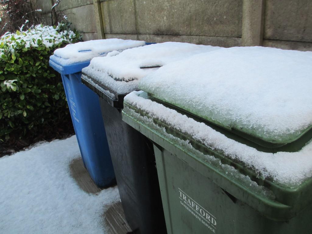 Snow bins