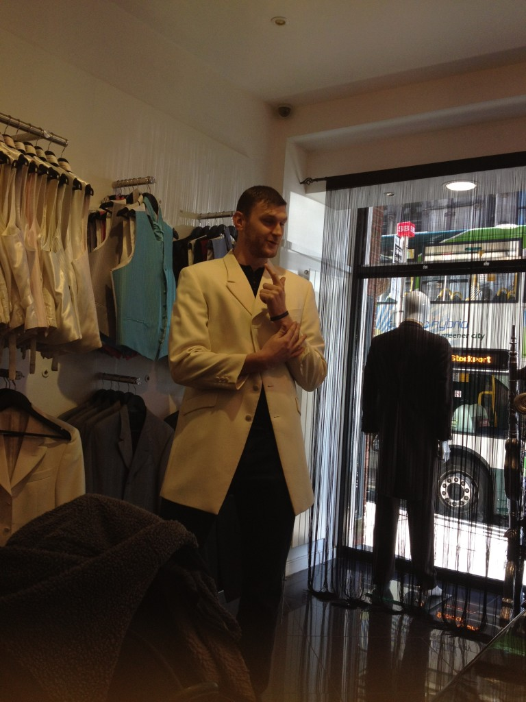 Joe wedding suits