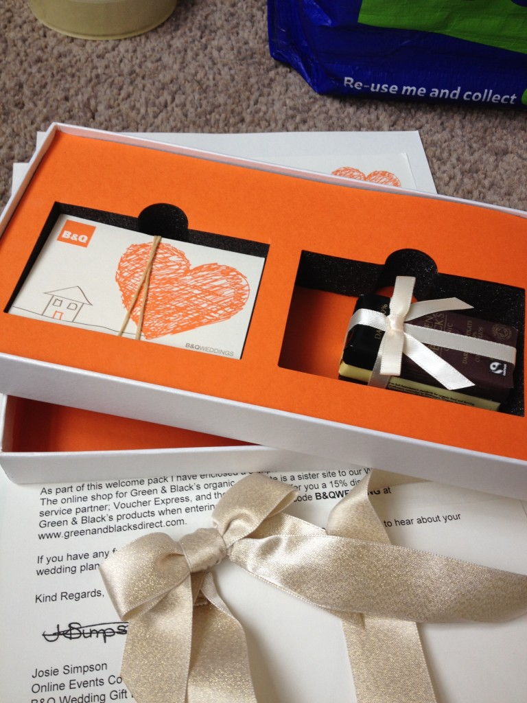 our wedding gift list well i guess this is growing up Wedding Gift Card John Lewis b&q wedding gift list wedding gift card john lewis
