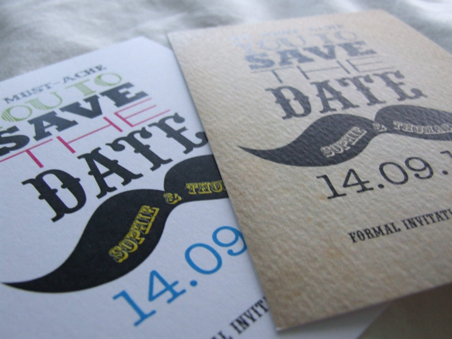 Review: Save The Date range by Paper Themes