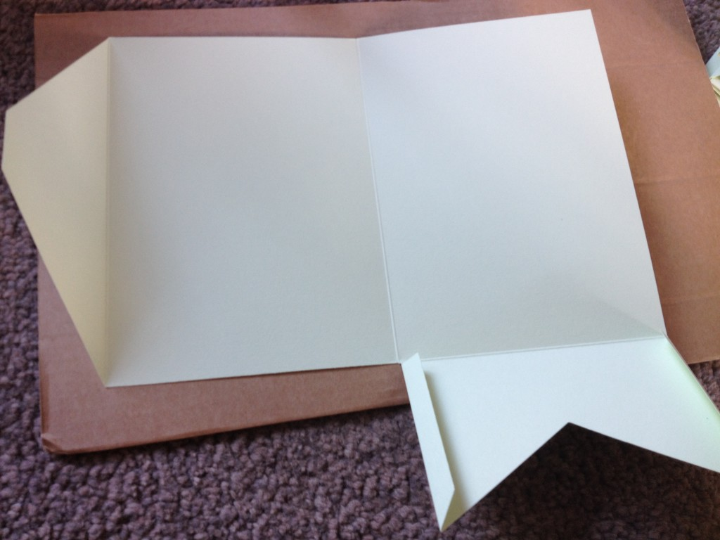 DIY Pocketfold Wedding Invitation