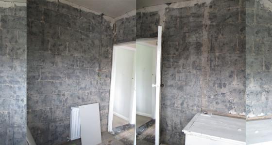 Bedroom 3 brickwork