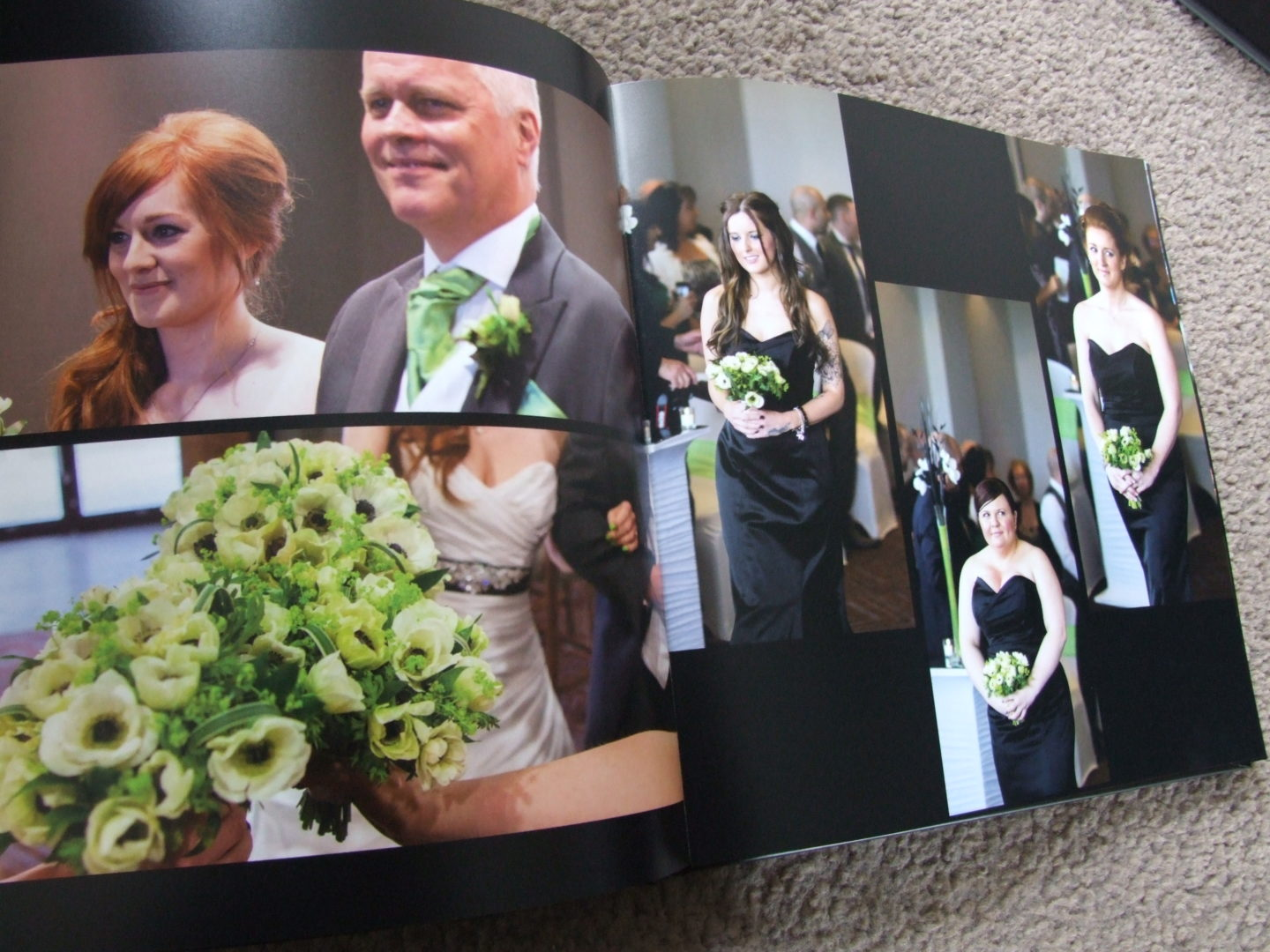 Bargain Wedding Album from Photobox