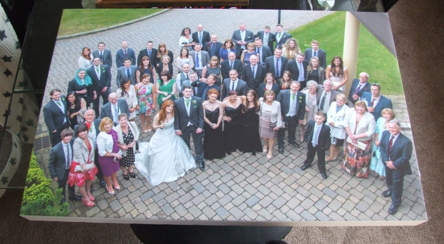 Photo Canvas Review: Featuring Our Wedding Guests!