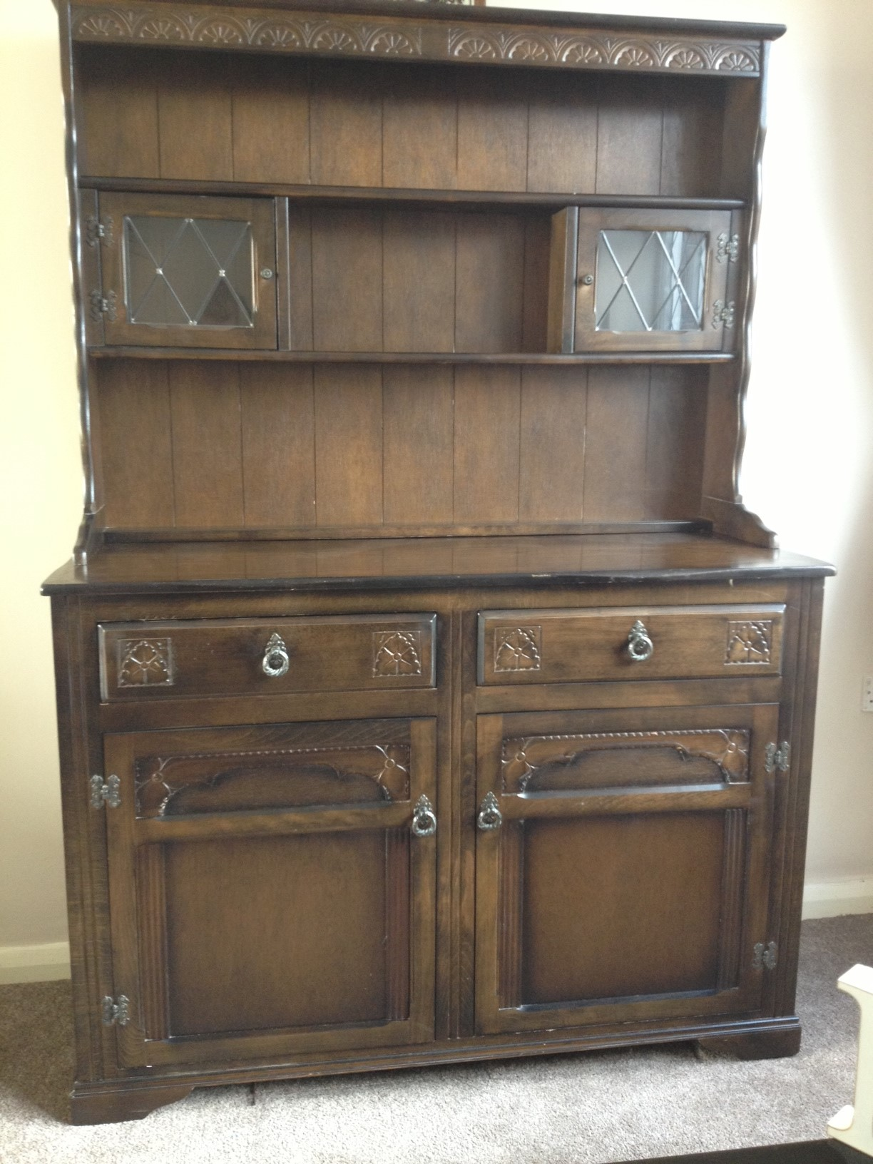 My first adventure into renovating furniture well i How to renovate old furniture