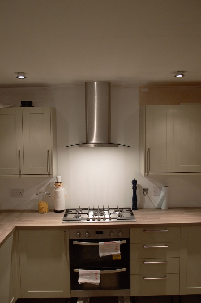 Built in extractor fan kitchen