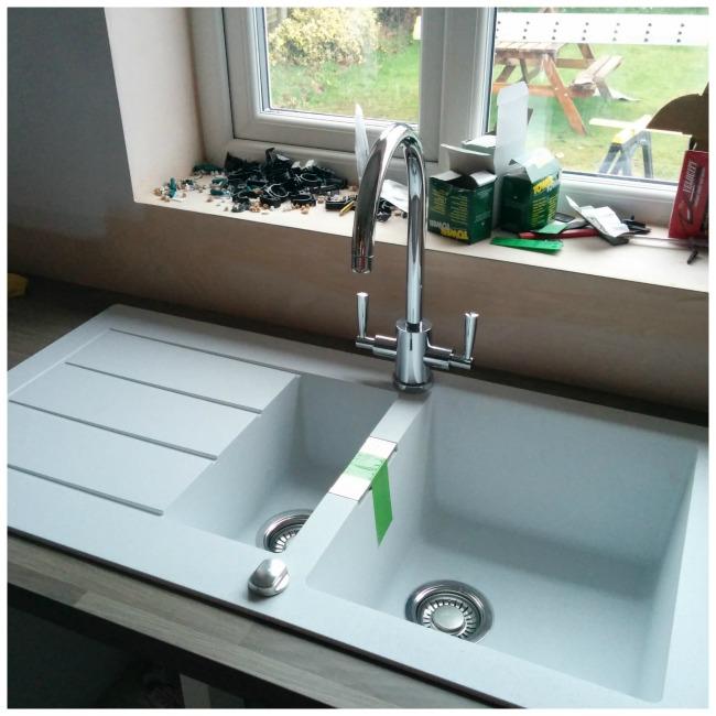 Kitchen Update: Demolishing our decrepit old sink