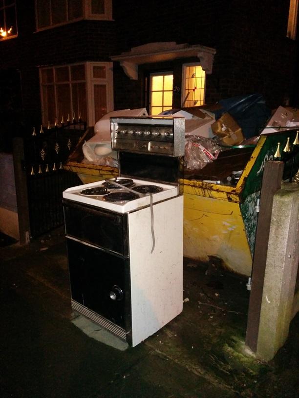 kitchen oven scrap
