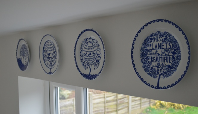 Hanging Our Rob Ryan China Plates