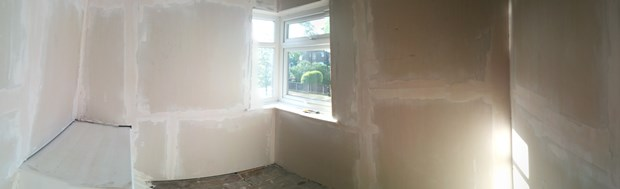 Bedroom 2 & 3 Updates: Getting Plastered