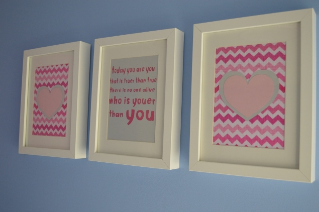 diy nursery wall art 05 & DIY Nursery Art with Dr Seuss and Cricut Mini - WELL I GUESS THIS IS ...
