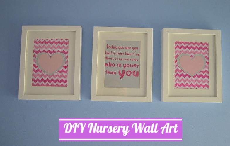 Diy Wall Art For Nursery : Diy nursery art with dr seuss and cricut mini well i
