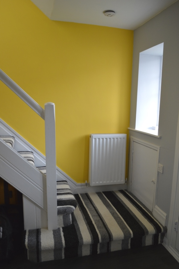 A Hallway Makeover - WELL I GUESS THIS IS GROWING UP
