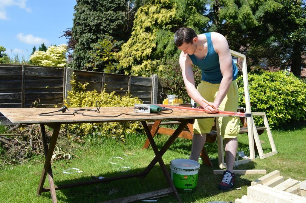 DIY ferret hutch 01