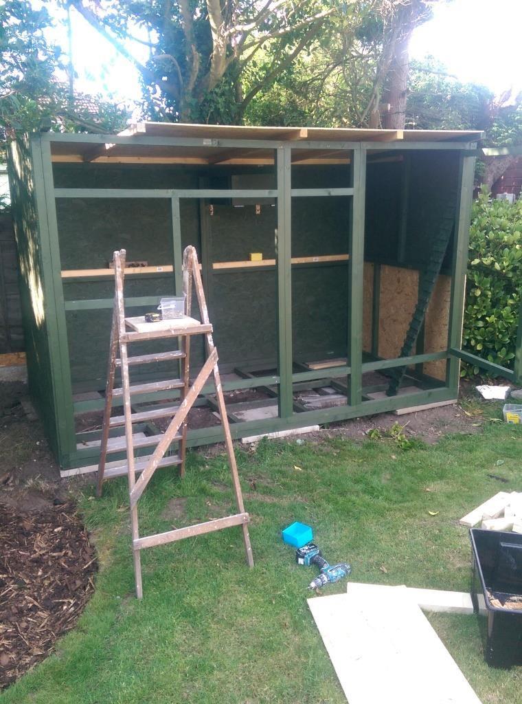DIY ferret hutch 08