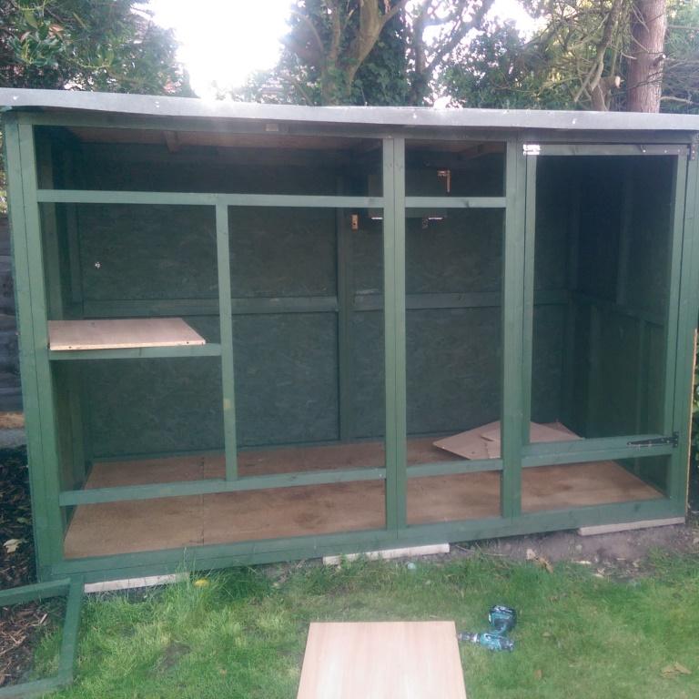 DIY ferret hutch 09