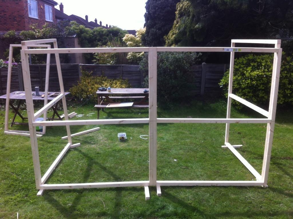 DIY ferret hutch 11