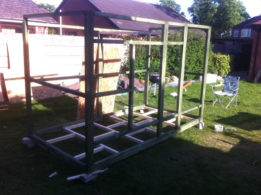 DIY ferret hutch 12