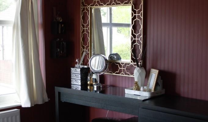 Master Bedroom Summer 2015 Update with #Valspar3DChallenge