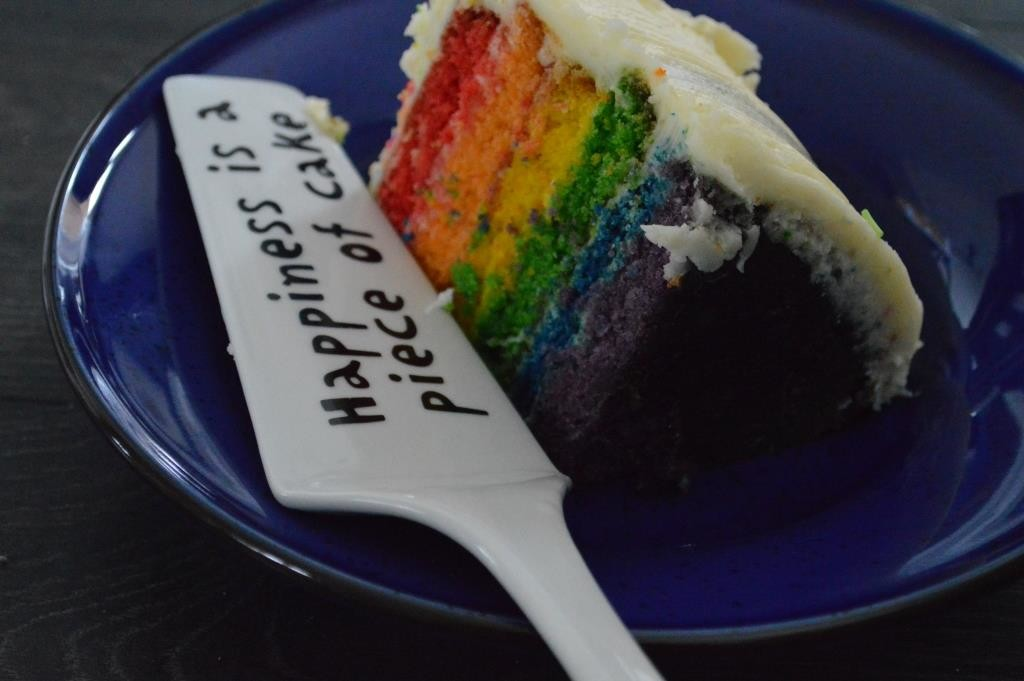 cake cutter rainbow