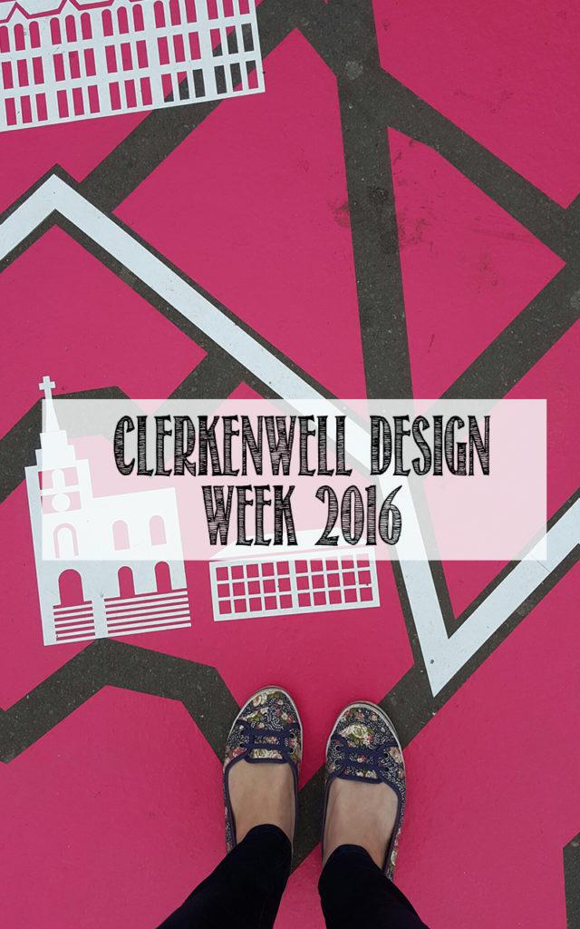 Photo Diary: Clerkenwell Design Week 2016