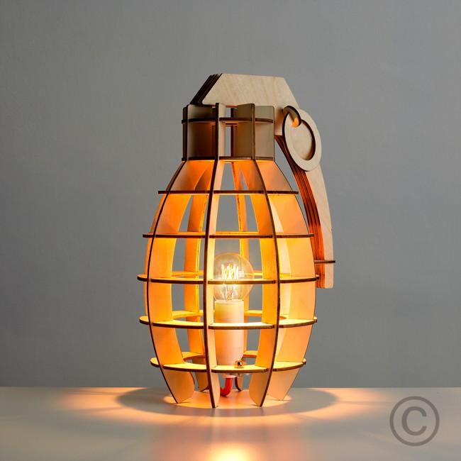 grenade lamp