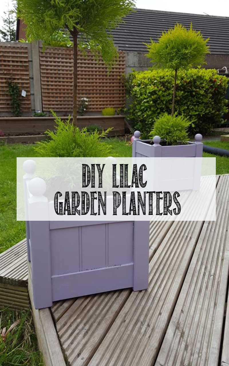 HOW TO diy LILAC PLANTERS