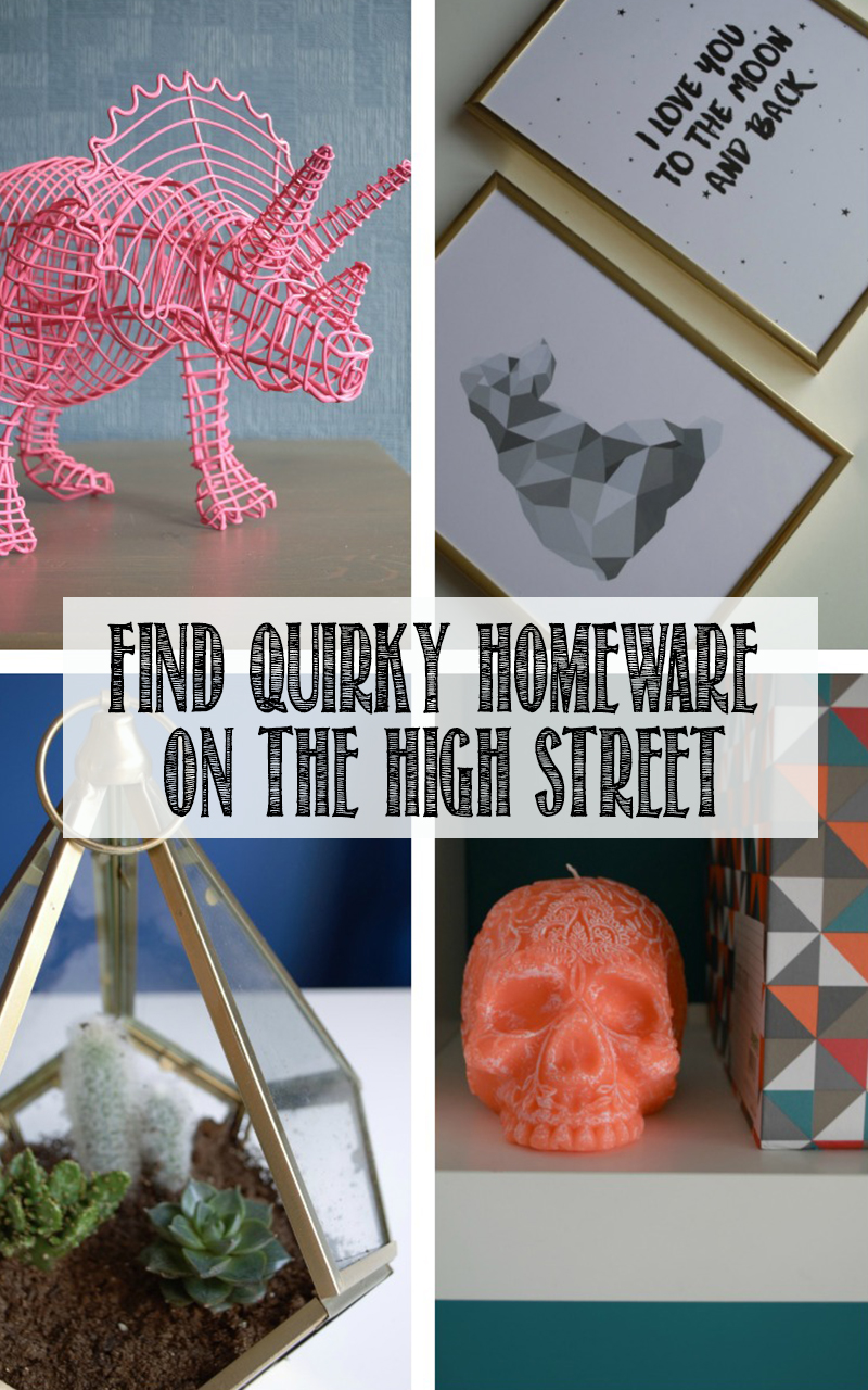 how to find quirky high street interiors