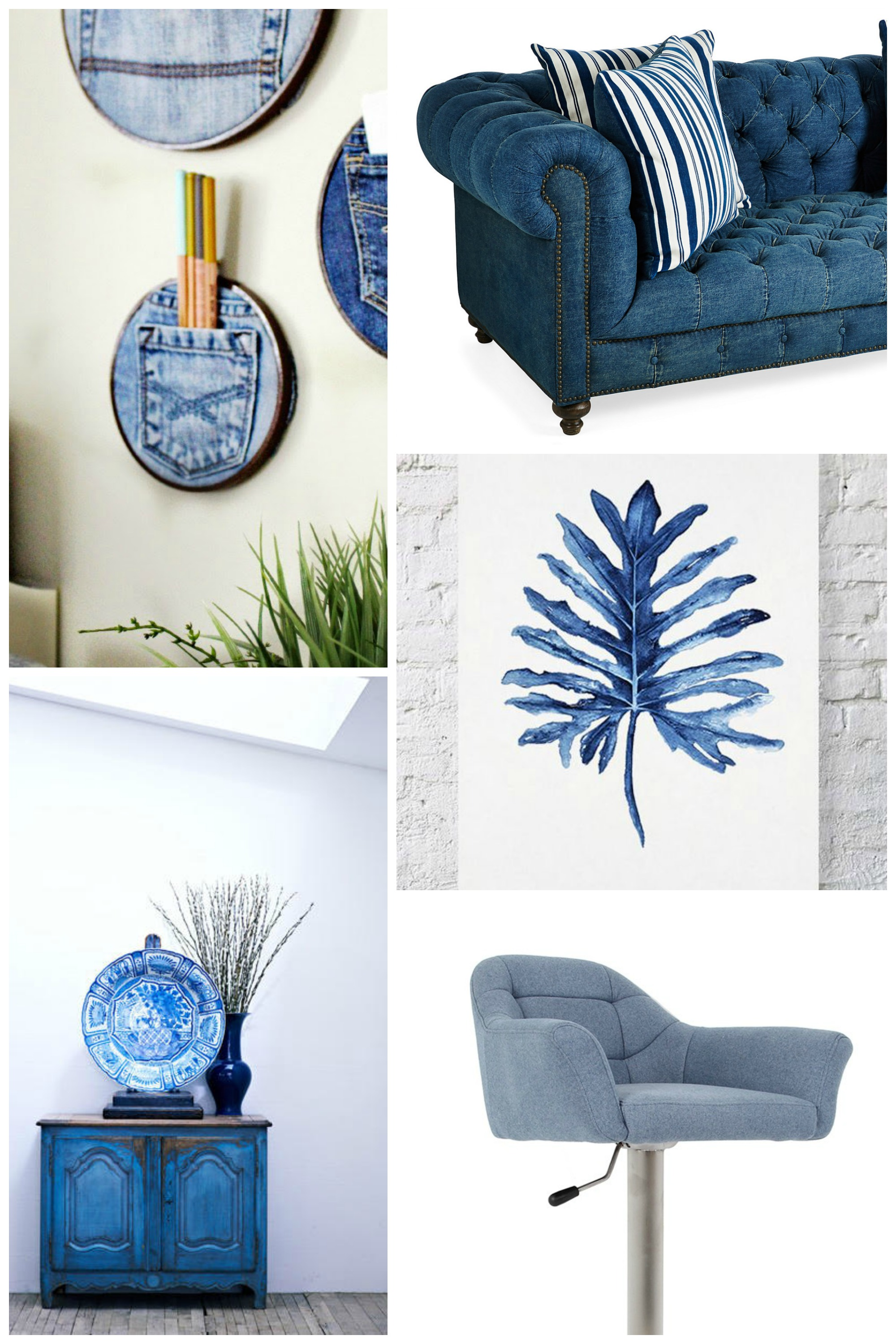 Denim Interiors Trend