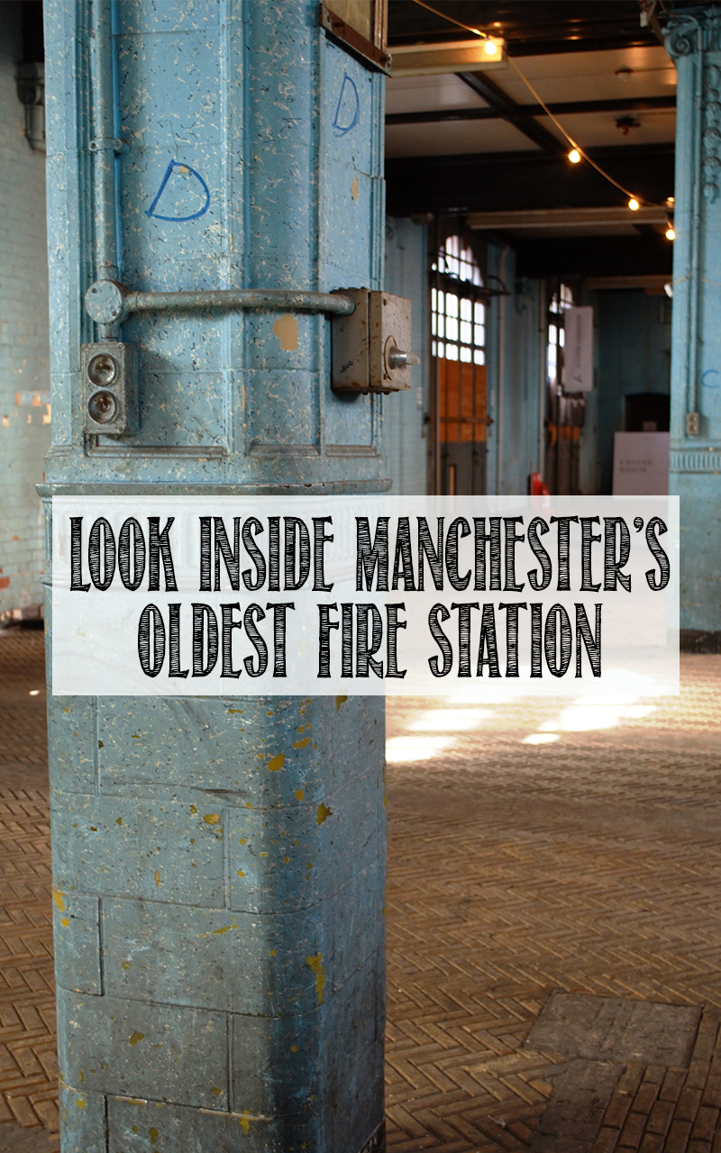 A Tour of Manchester's Abandoned London Road Fire Station