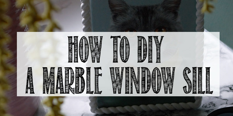 How to DIY a Marble Window Sill