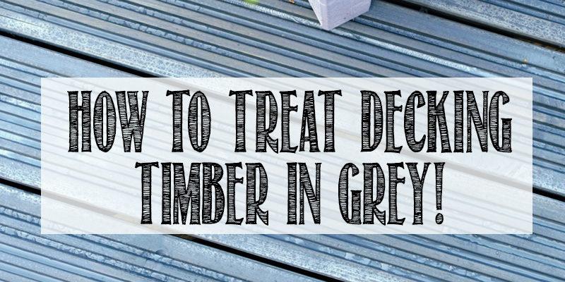 Grey decking