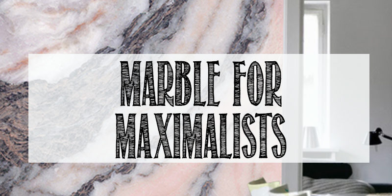 statement marble