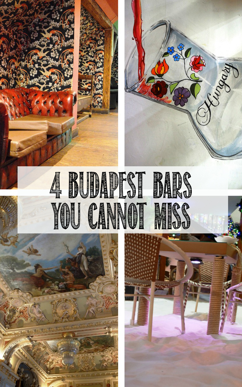 4 Unmissable Bars in Budapest