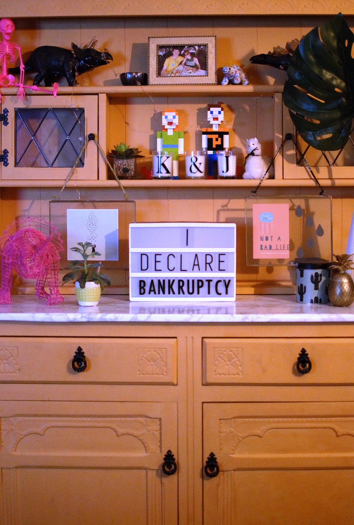 Annie Sloan Eclectic Dresser