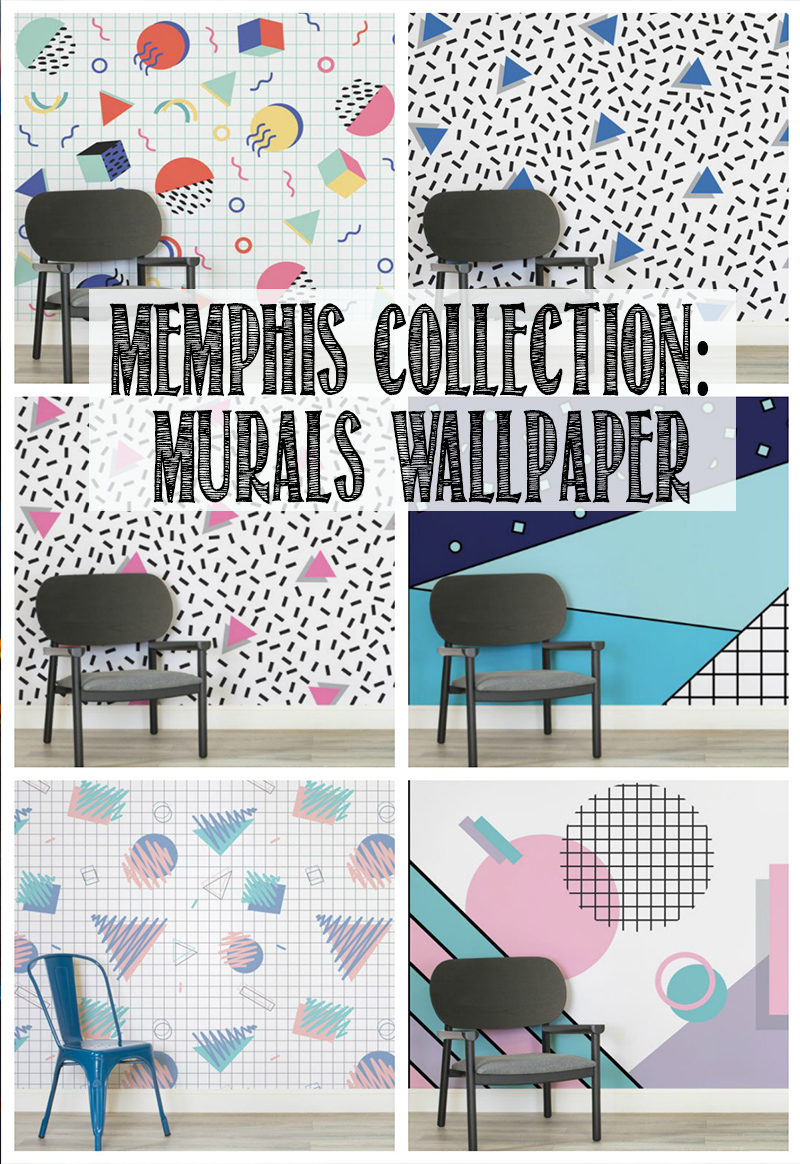 Memphis Collection from Murals Wallpaper