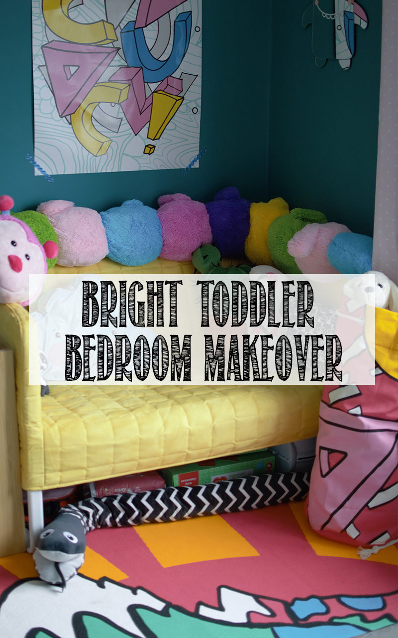 Bold Amp Bright Toddler Bedroom Makeover Well I Guess This