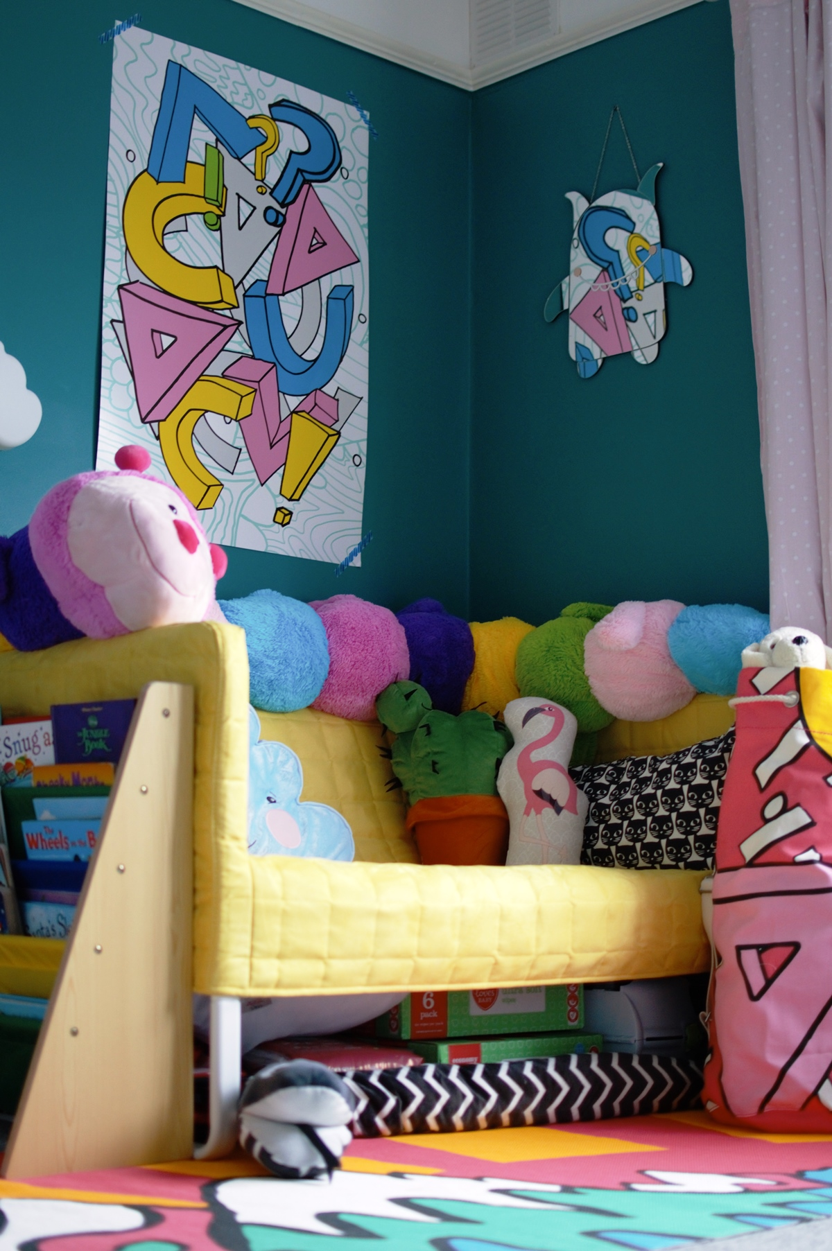 Colourful Toddler Bedroom Makeover