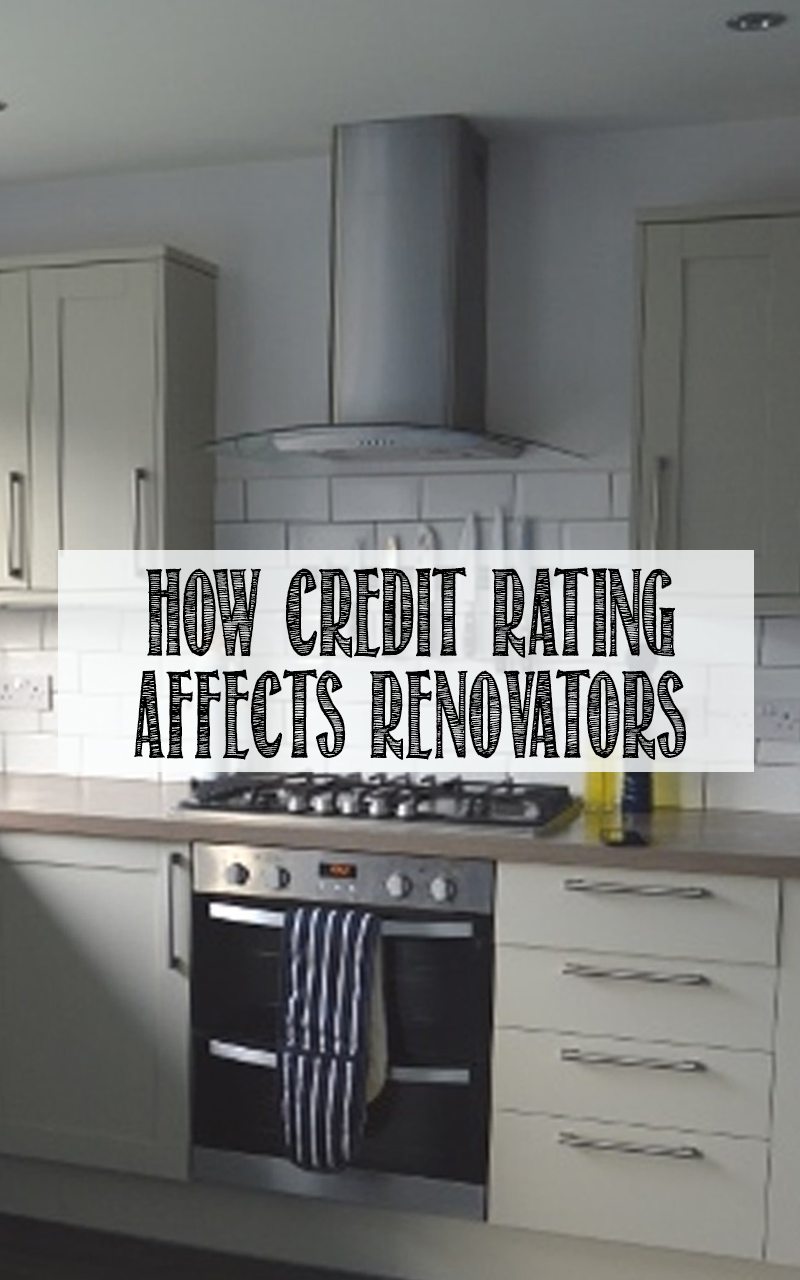 How i financed a kitchen renovation with 39 no credit rating for Cost of renovating a kitchen uk