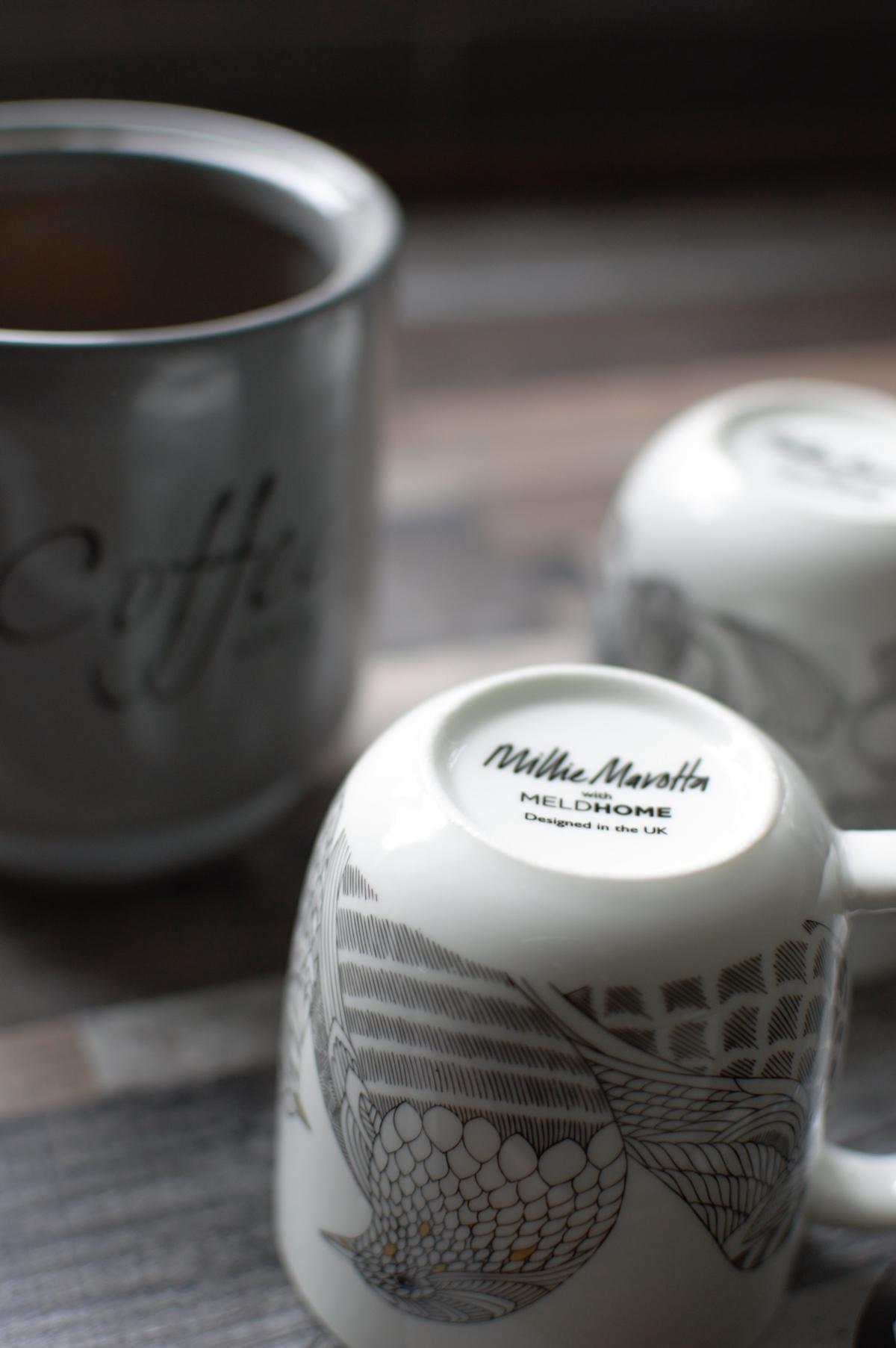 Millie Marotta, dinnerware