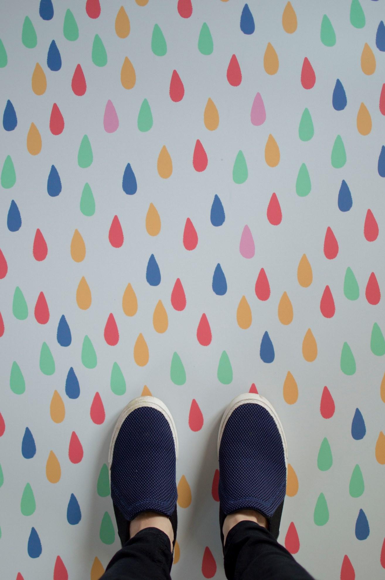 Rain Drop Flooring