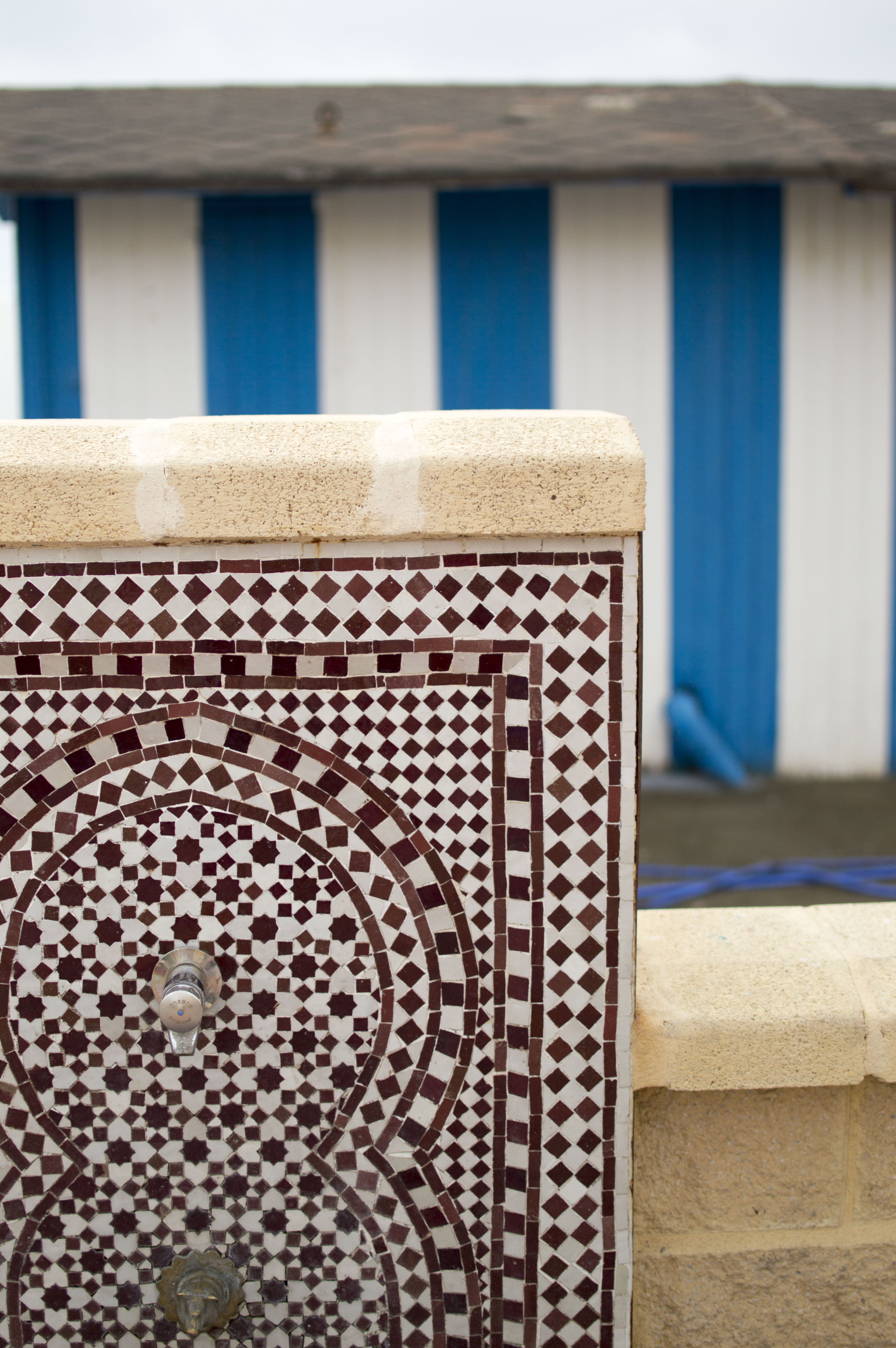 spanish tiles beach