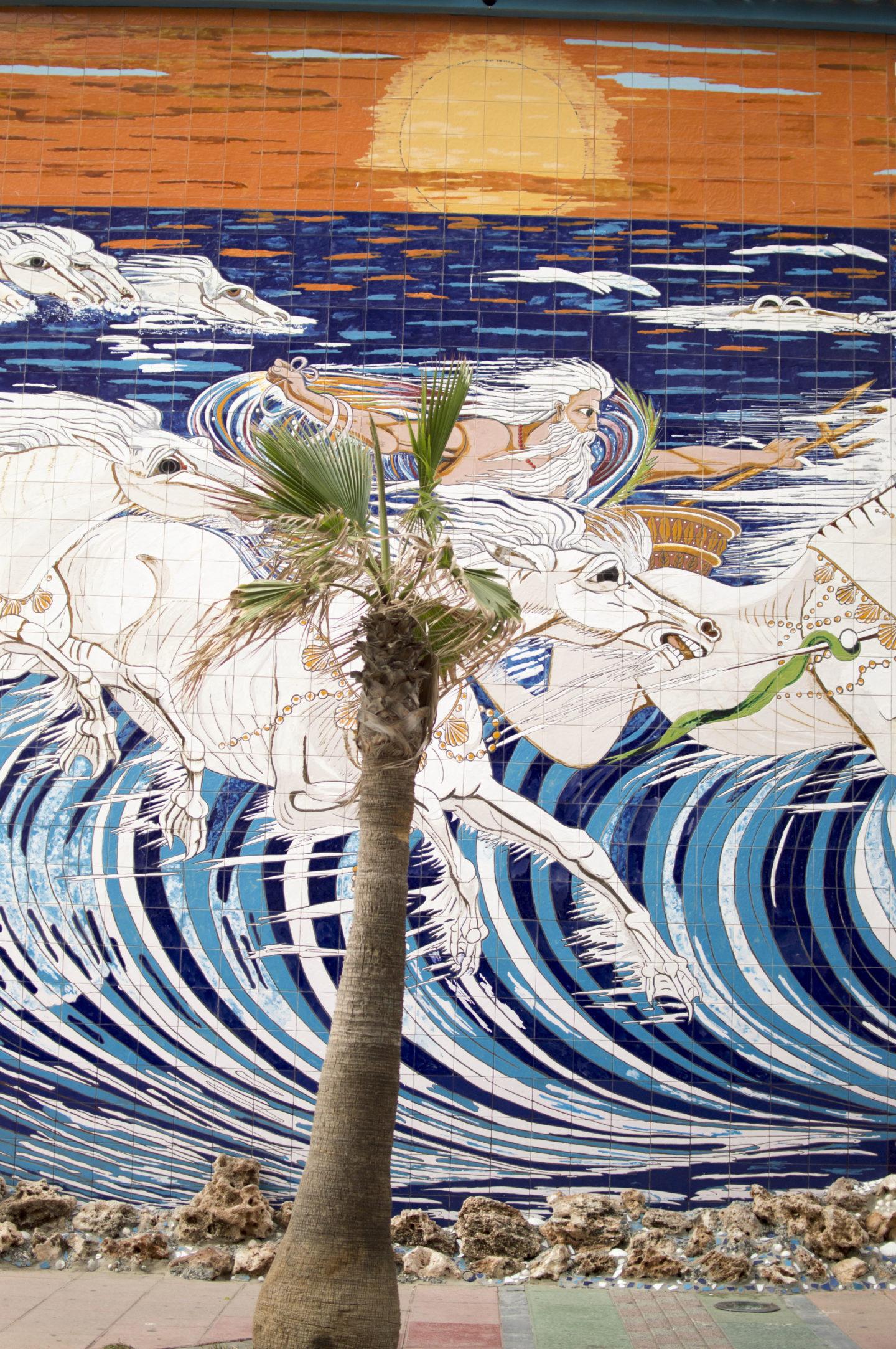 duquesa wall mural spanish tiles