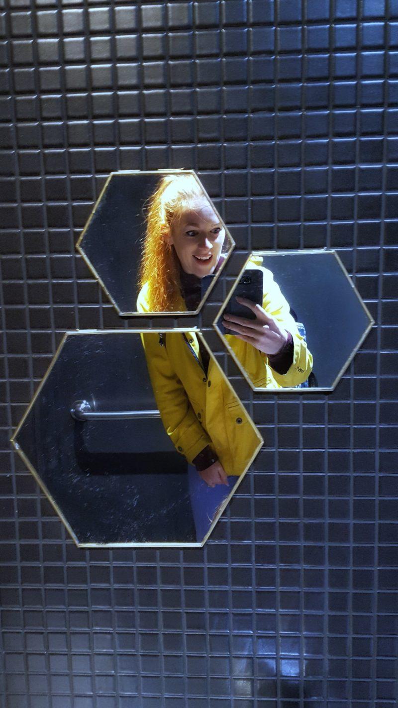 Hex bathroom
