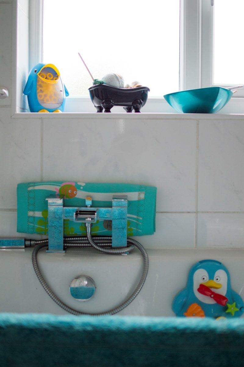 Family bathroom tour