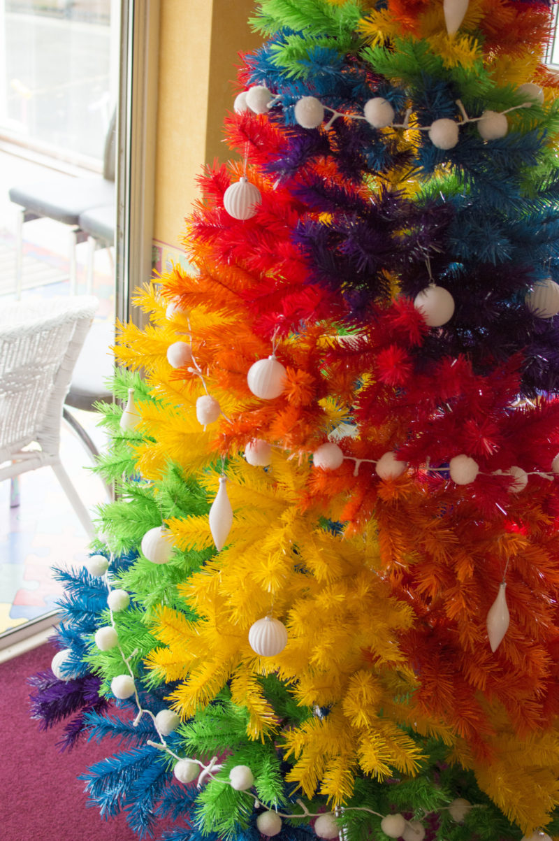 How To Rock A Colourful Christmas Tree Amp Why We Have