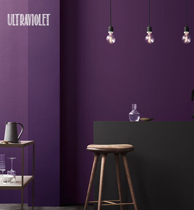 Pantone COTY 2018 Ultraviolet
